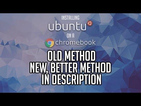 How To: Install Ubuntu on a Chromebook