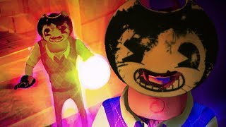 THE NEIGHBOR ACTUALLY BECAME BENDY!!! - HELLO BENDY (Hello Neighbor + Bendy and The Ink Machine)