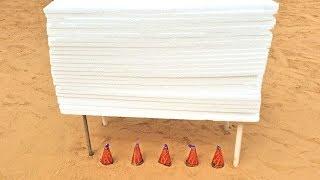Diwali Anaar VS 25 Thermocol Sheets | Crazy Diwali Experiment