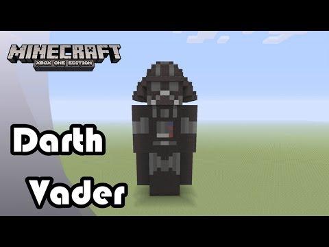 Minecraft: Statue Tutorial and Showcase: Darth Vader (Star Wars)
