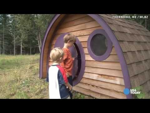 Ever wanted a hobbit hole in your backyard?