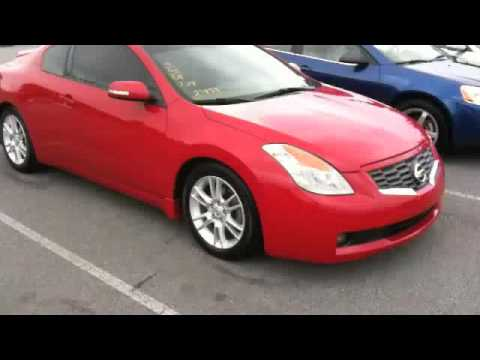 2008 Nissan Altima Coupe 3.5 SE Start Up, Exhaust, And Full Tour
