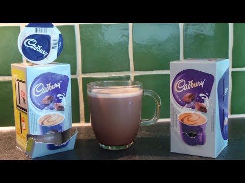 How to make smooth silky CADBURYS curvy hot chocolate - Bosch Tassimo