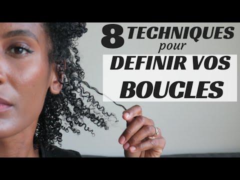 8 TECHNIQUES POUR DÉFINIR VOS BOUCLES - Olivia Rose