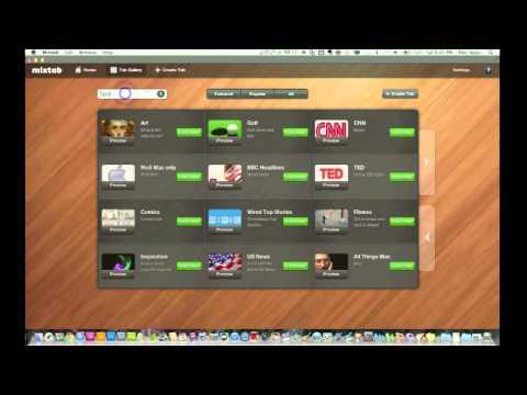Mac News Reader Application Mixtab Full Review