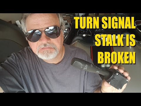 How To Change Your Turn Signal Stalk - Saturn Sky