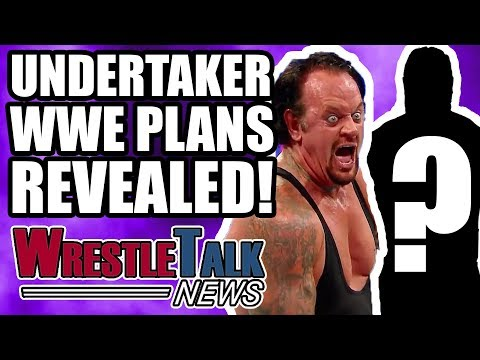 Undertaker WWE Plans REVEALED! Chris Jericho WWE RETURN Announced!   WrestleTalk News Apr. 2018