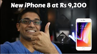 Jio + New Apple iPhone 8 in India at Rs 9200 - Cashback + 70% Buy Back Offer
