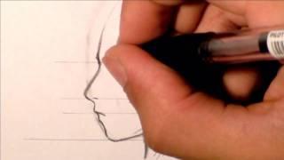 Download Tutorial - Disegnare profilo Volto Manga • RichardHTT Video