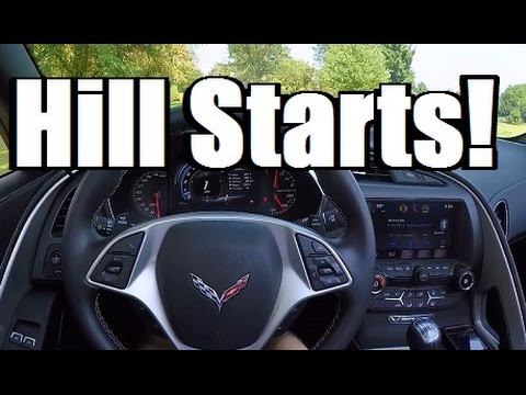 HOW TO DRIVE A STICK SHIFT: HILL STARTS!