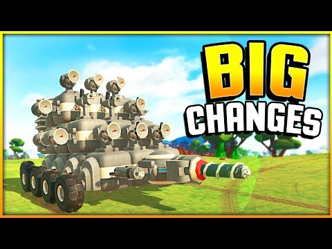 BIG Changes! New Blocks, New NPC, Multiplayer & More! - TerraTech Gameplay