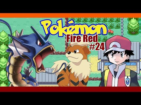 GROWLITHE!!!  - Pokemon: Fire Red - Part 24