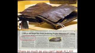 1500 YEARS OLD BIBLE ,JESUS ,JEWS ,LAST TRUMPET ,AND THE MAHDI