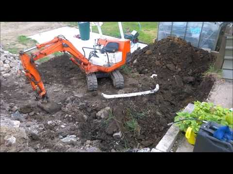 gabion basket retaining wall! part 1: digging out and preparing the foundations.