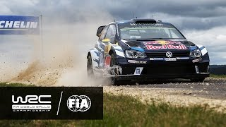 WRC - ADAC Rallye Deutschland 2016: HIGHLIGHTS / Review Clip