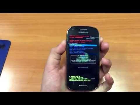 Samsung Galaxy Light Factory Reset MetroPCS