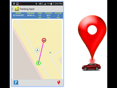 TripBuddy Android App - Always Know Where You Parked & Save Memorable Locations