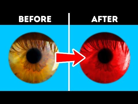 20 OPTICAL ILLUSIONS AND ONE COOL TRICK THAT'LL CHANGE YOUR EYE COLOR