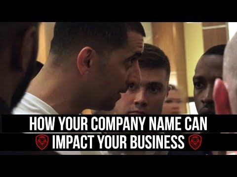 How Your Company Name Can Impact Your Business
