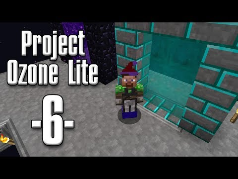 Minecraft - Project Ozone Lite #06 - Wither Boss, ny dimension og AE presses (HD)