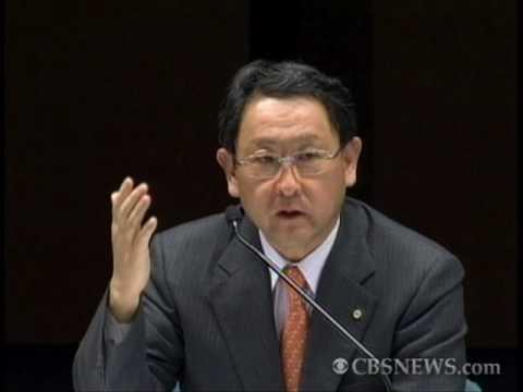 Toyota CEO: 'I Will Do My Best'