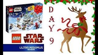 Day 9 Star Wars LEGO Advent Calendar (2018)