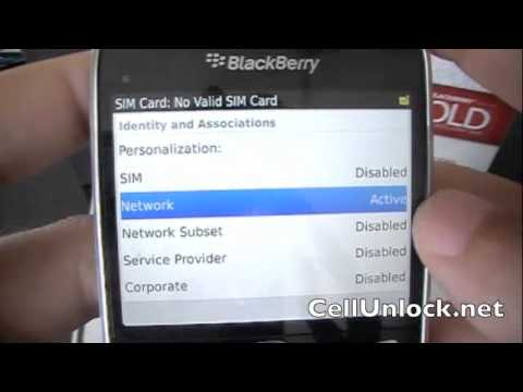 How to Unlock BlackBerry Bold 9900 9930 Rogers, AT&T, T-mobile, Verizon, Bell, Telus +