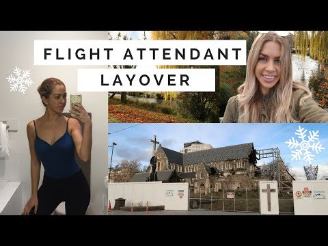 3 DAY LAYOVER IN NEW ZEALAND // FLIGHT ATTENDANT LIFE