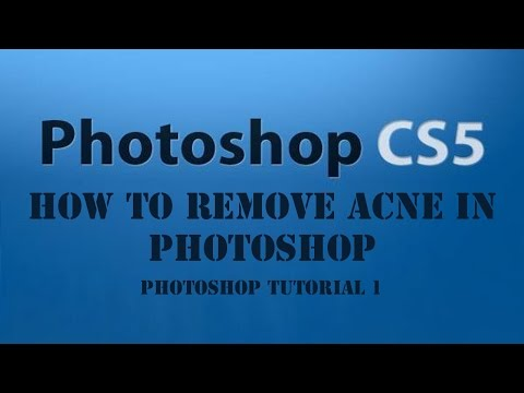 How To Remove Acne In Photoshop CS5