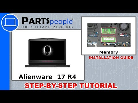 Dell Alienware 17 R4 (P12S001) Memory How-To Video Tutorial