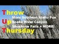 RV LIFE - TUT!  More Southern Idaho Fun! Snake River Canyon, Shoshone Falls!