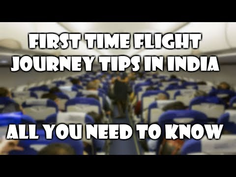 First time flight journey tips in hindi | Travelling in flight for the first time in domestic india