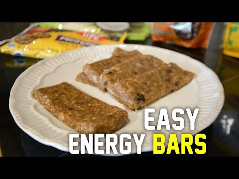 Easy Homemade Energy Bars - Cheap & Healthy