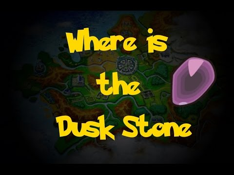 Where Is: The Dusk Stone (Location 2) (Pokemon X/Y)