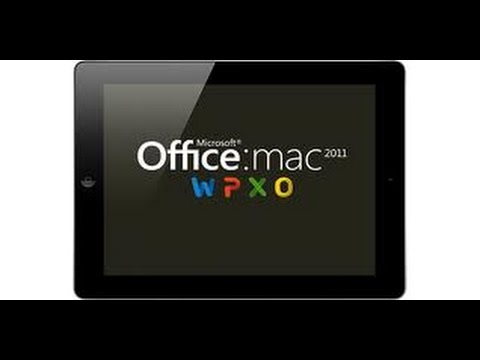 How to download Microsoft Office Word 2011 Free (Mac)