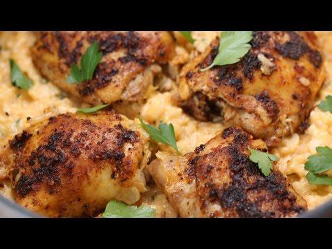 One-Pot Lemon Pepper Chicken & Rice