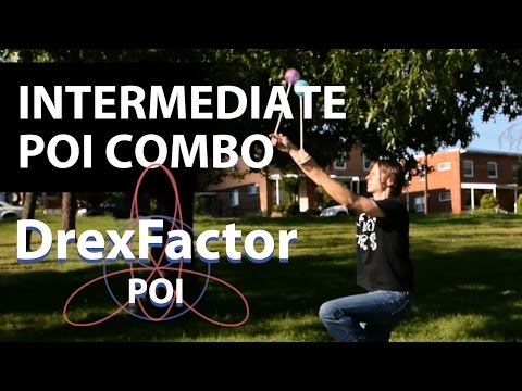 Intermediate Poi Dancing Combo Tutorial: May 2017