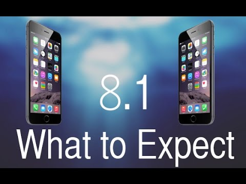 Apple IOS 8.1 Update - What To Expect (October 2014)