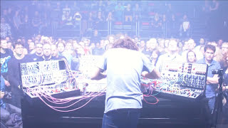 I did a livestream of my entire ADE performance at de melkweg in Amsterdam. I had been sick as a dog for a week so I took it a bit slow. eventually I couldnt help myself so I brought some chaos in the mix. was fun. lets do it again sometime!