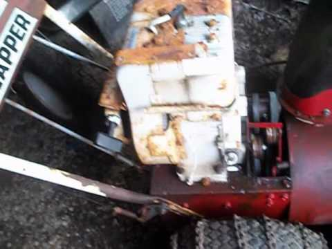 My 8hp 1984 briggs snapper snowblower running with out gas tank needs new auger belt