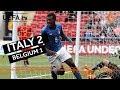 U17 Semi final Highlights Italy V Belgium
