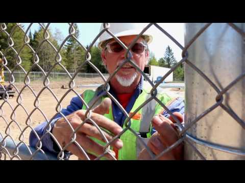 How to use the large 6 5/8 Easy Twist Fence Tie