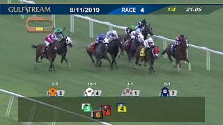 Gulfstream Park Replay Show | August 11, 2019