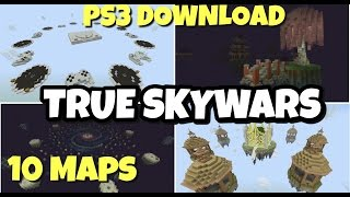 Hypixel - 3 Sky Wars maps (Congo, Elven and Shire) - Part 1