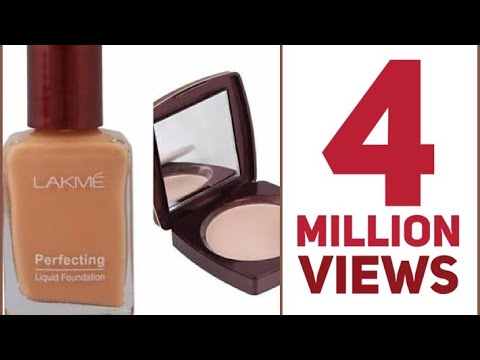 Lakme Perfecting Foundation & Lakme Compact Review | How to apply