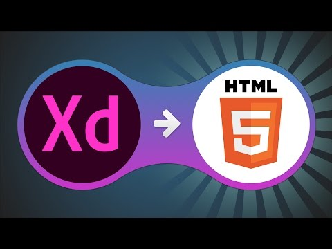 How To Manually Convert Adobe Xd Design To HTML