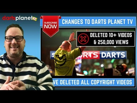 BIG CHANGES TO DARTS PLANET TV - REASONS WHY EXPLAINED