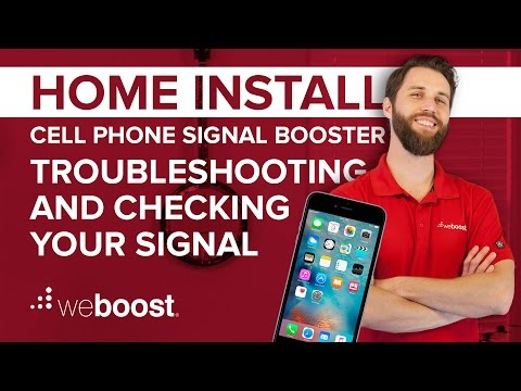 Checking Your Signal and Troubleshooting - Signal Booster Home Install Series (6 of 6)   weBoost