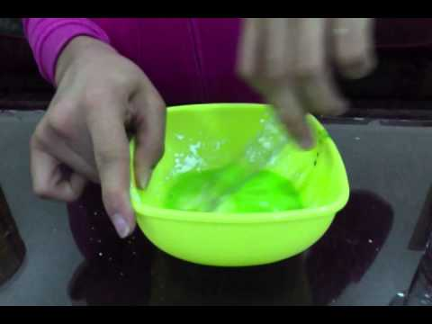 How 2 Make Oobleck / Quicksand ..... ( really easy )