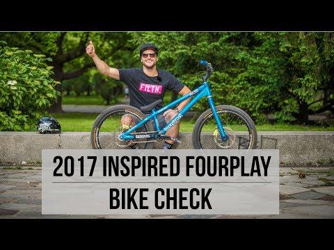 Duncan Shaw - 2017 Inspired Fourplay Bike Check